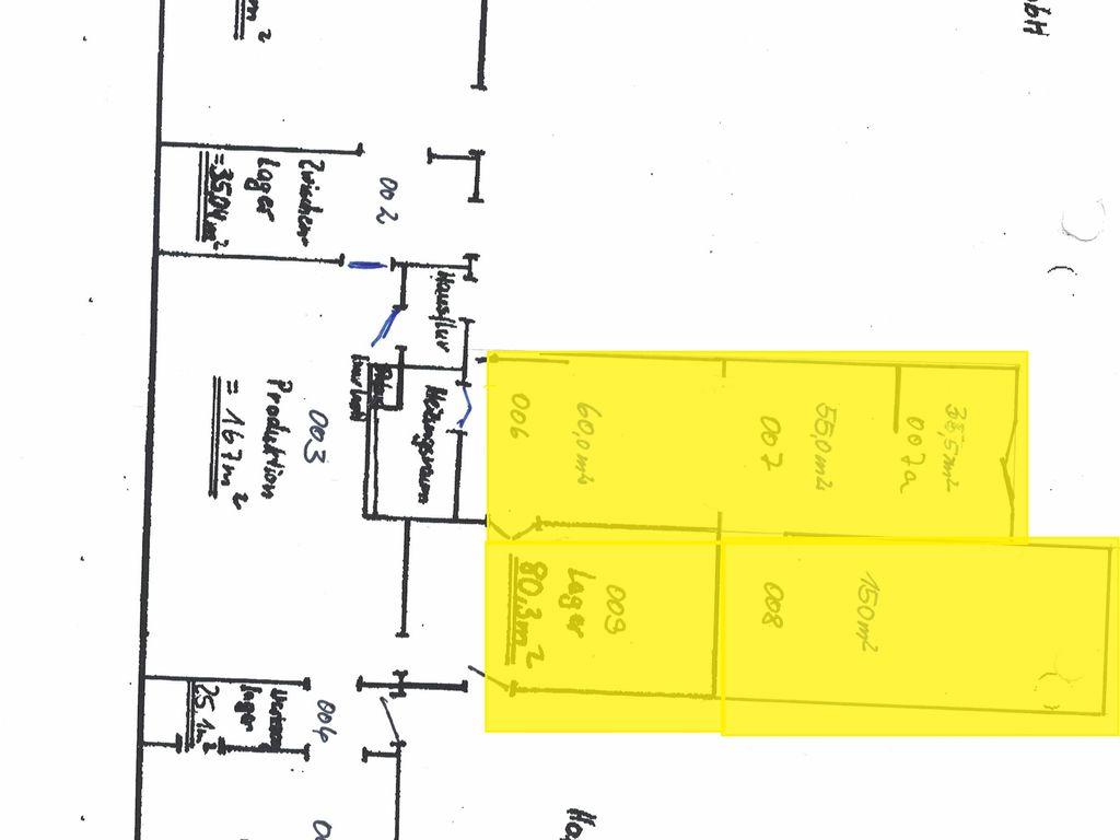 EG - Anbau 380 m²
