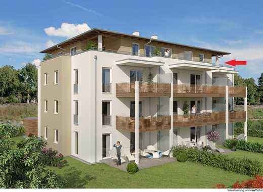 ++ Neubau/Erstbezug++ Top 2 Zimmer Penthouse-Wohnung mit moderner Ausstattung, Niedrigenergiehaus!