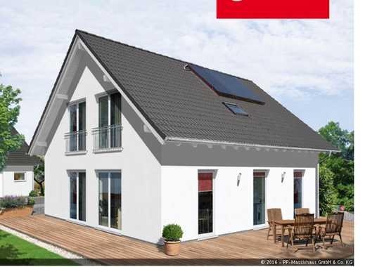 Ein helles Haus mit viel Platz