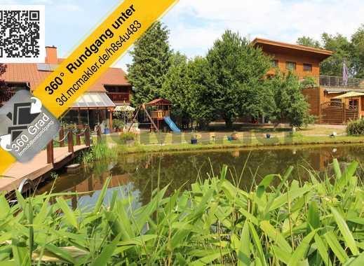 7.000 m² Luxus und Natur: Einfamilienhaus + Ferienhaus mit paradiesischem Garten an der Nordsee!