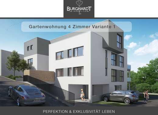 Bad-Vilbel - Niederberg: 4 Zimmer Gartenwohnung -Elegantes Wohnen mit Taunusblick