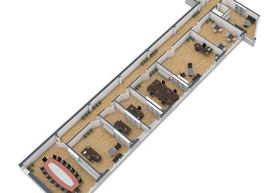 *PROVISIONSFREI DIREKT VOM EIGENTÜMER* Komplett Renovierte Büroflächen zu interessanten Konditionen
