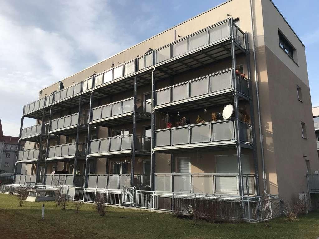 Exklusive, neuwertige 4-Zimmer-EG-Wohnung mit Balkon und EBK in Augsburg in Augsburg-Innenstadt