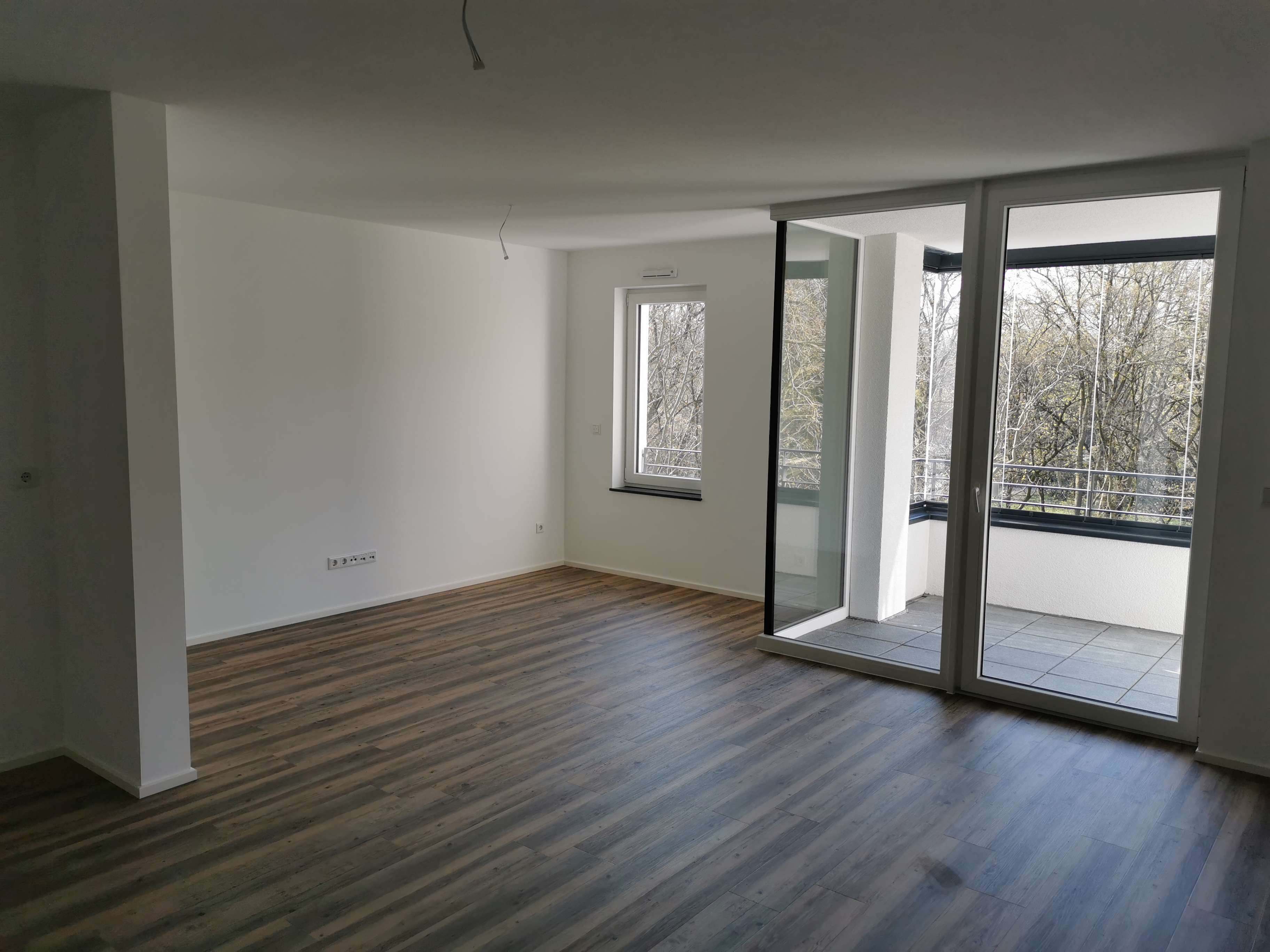 Erstbezug zentrale 3-Zimmer-Wohnung in Aschaffenburg mit EBK und Balkon in