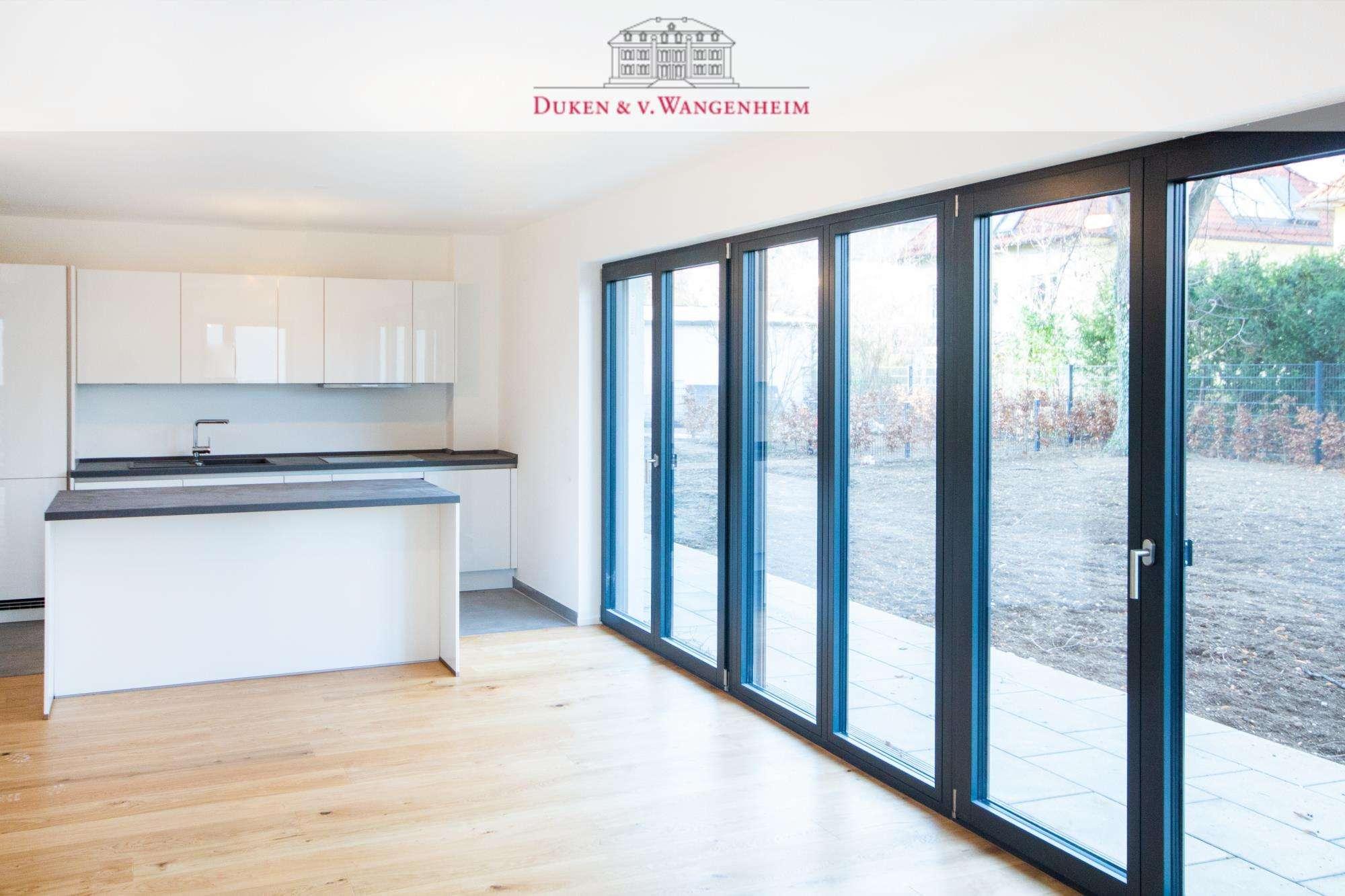 Erstbezug mit großzügigem Garten.  3-Zimmer Wohnung mit exklusiver Ausstattung. in Bogenhausen (München)