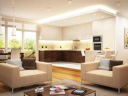 So könnte Wohnzimmer aussehen