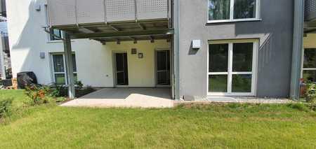 ... Neubau - 2-Zimmer-Wohnung mit Terrasse und eigenem Garten in Mühldorf-Nord... in Mühldorf am Inn