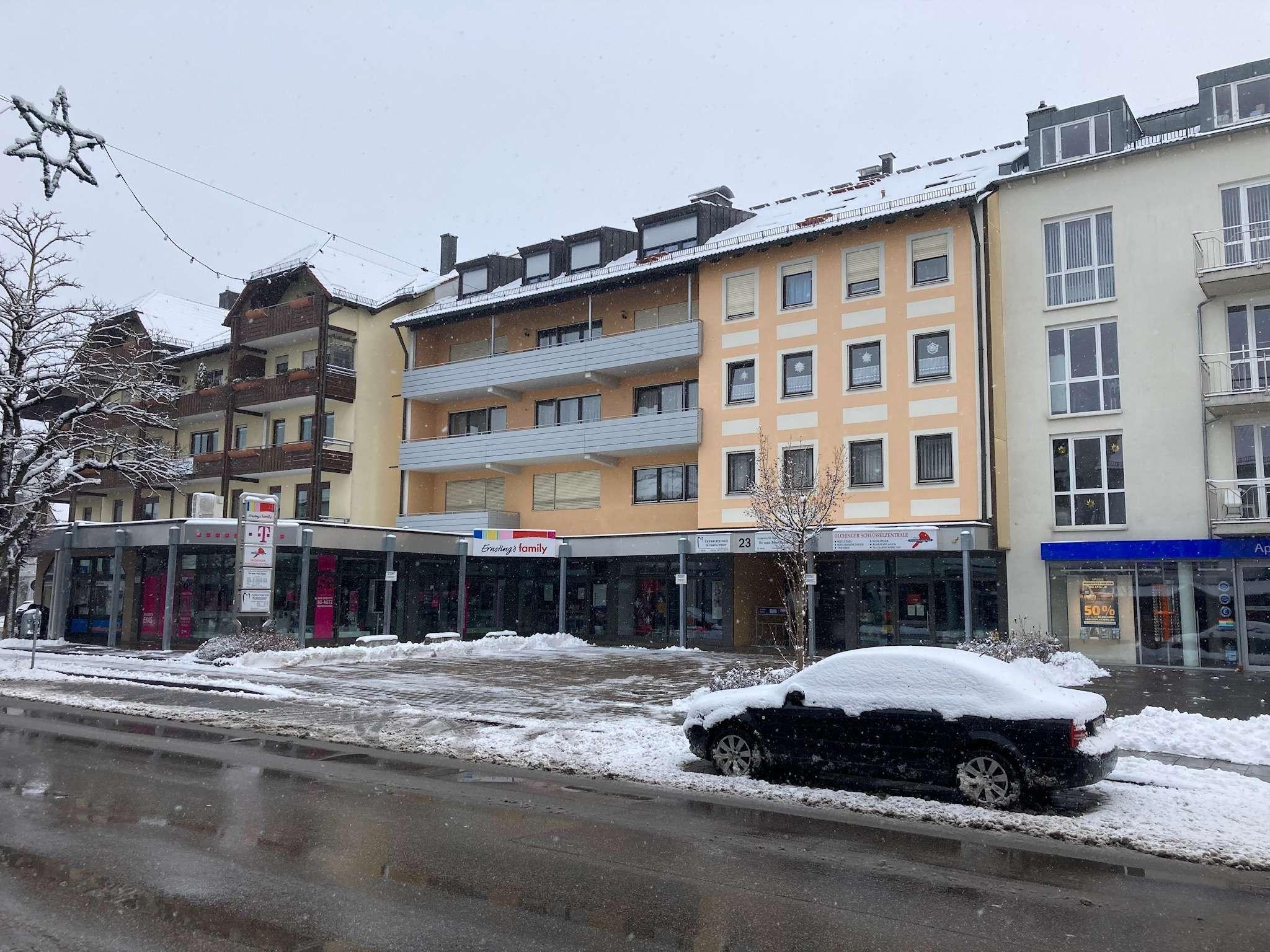 3 Zimmer Wohnung mit Balkon in Olching in