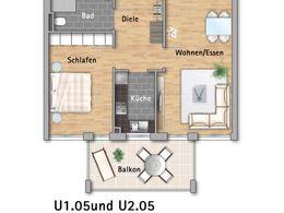 Zweizimmerwohnung U1.05