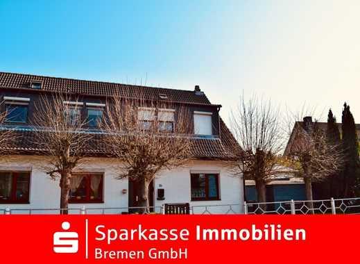 Zur Kapitalanlage bzw. Eigennutzung! Teilweise vermietete Doppelhaushälfte in Bremen-Mahndorf