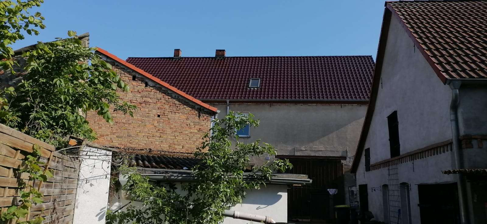 Hausansicht Innenhof