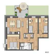 Nur für Kapitalanleger 4-Zimmer-Gartenwohnung FÖRDERUNG
