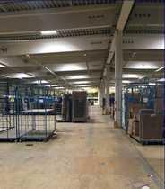 5800 m² Hallenfläche mit Rampenandienung