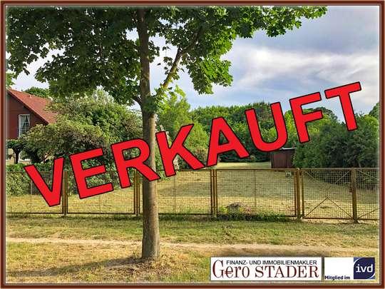 898m² Baugrundstück in einer Sackgasse, in Dahlewitz - Südausrichtung! - Bild 1