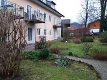 Attraktive gepflegte 3-Zimmer-Erdgeschosswohnung in Bichl
