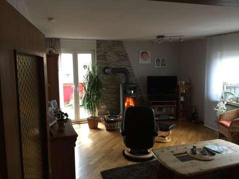 Helle Wohnung 4 Zkb Balkon Kamin Mit Garage