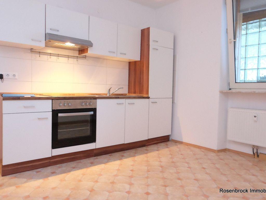 Wohnküche mit EBK