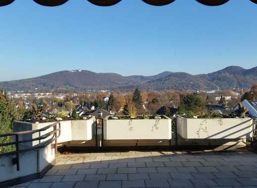 Panorama-Siebengebirgsblick Bad Godesberg Höhenlage 2-Zimmer KDB modernisiert ebenerdig