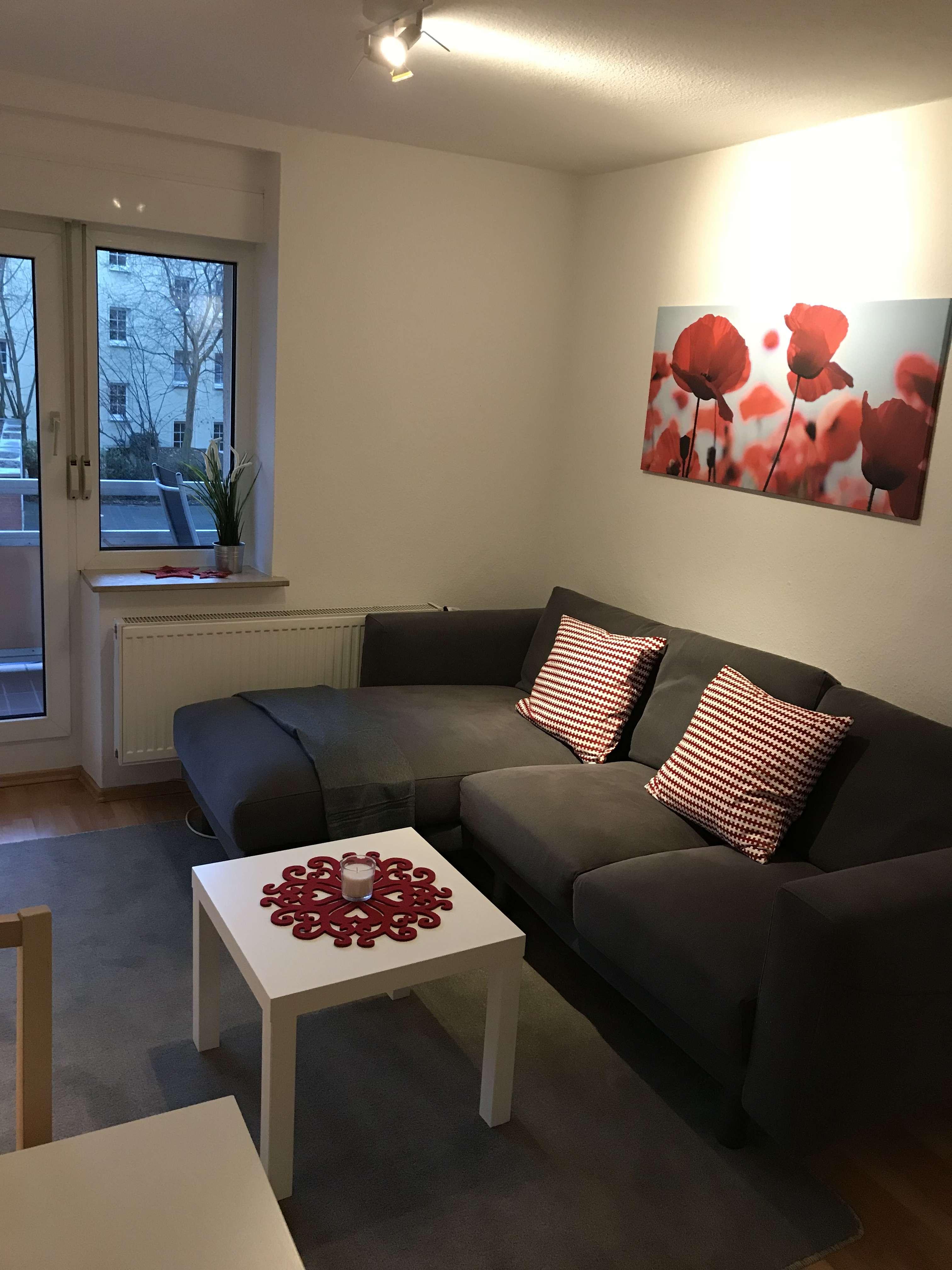 Möblierte 2 Zimmer Wohnung in St. Johannis in