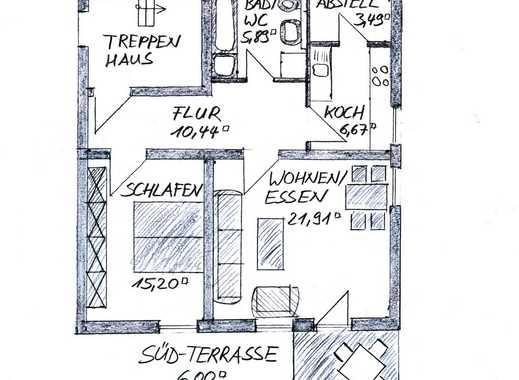 Sonnige 2-Zimmer-Gartenwohnung
