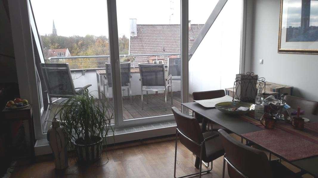 Sonnige 3-Zimmer-Galerie-Wohnung mit Dachterrasse in Haidhausen (München)