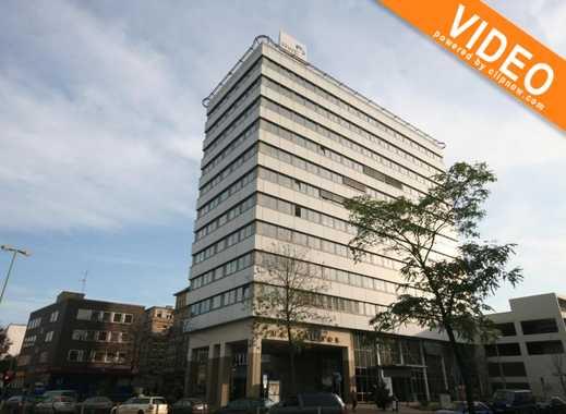 Büroflächen im Duisburger HANSATOR! Innenstadt und gute Verkehrsanbindung vor der Tür
