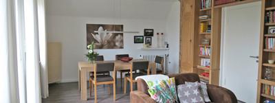 Schöne und helle 3 Zimmer-Dachgeschoss-Wohnung mit Westbalkon in Bad Oeynhausen-Werste