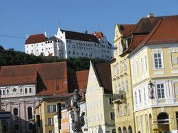 Landshut, Blick auf die Burg