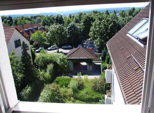 Sonnige, im grünen gelegene Maisonette Wohnung über den Dächern Stuttgarts mit nahem U-Bahnanschluss