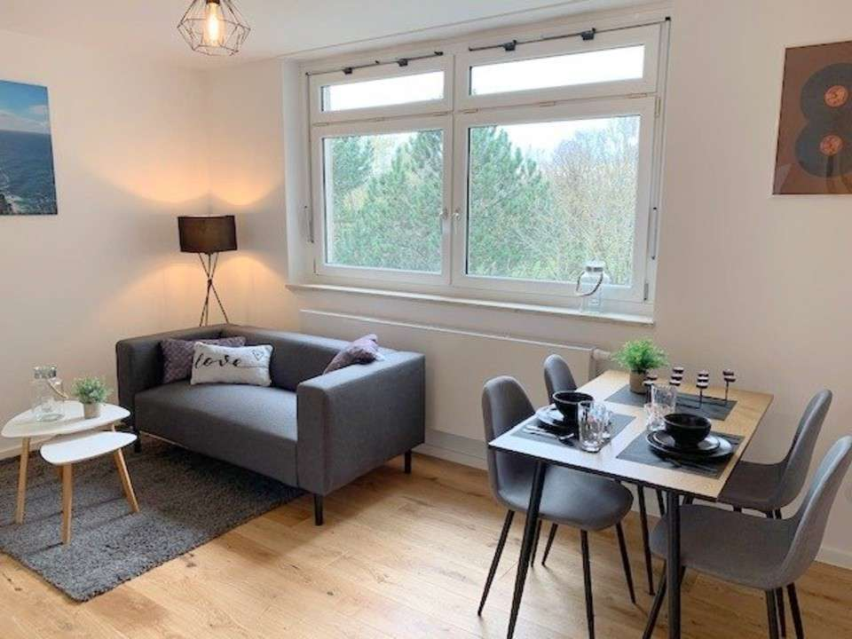 Erstbezug nach Renovierung: voll möbliertes 1,5-Zimmer Apartment - ab sofort frei in