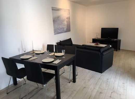Ruhig gelegene voll möblierte 2 Zimmerwohnung in Rheinnähe