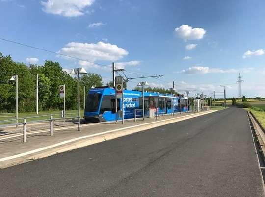 Rollstuhlgerechte Wohnung + S-Bahn 200 m entfernt.