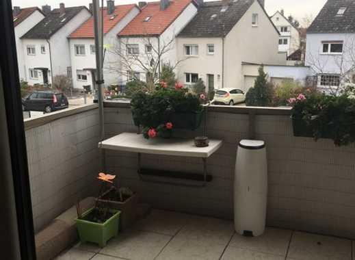 Mörfelden-Walldorf, solide, sonnige  3-Zimmerwohnung mit Einbauküche, Balkon, Kfz-Stellplatz