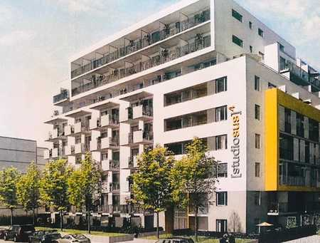 Studentenappartement, ca. 19 qm, 7. OG, gr. Balkon, teilmöbliert, Haidhausen, Kustermannpark in Ramersdorf (München)