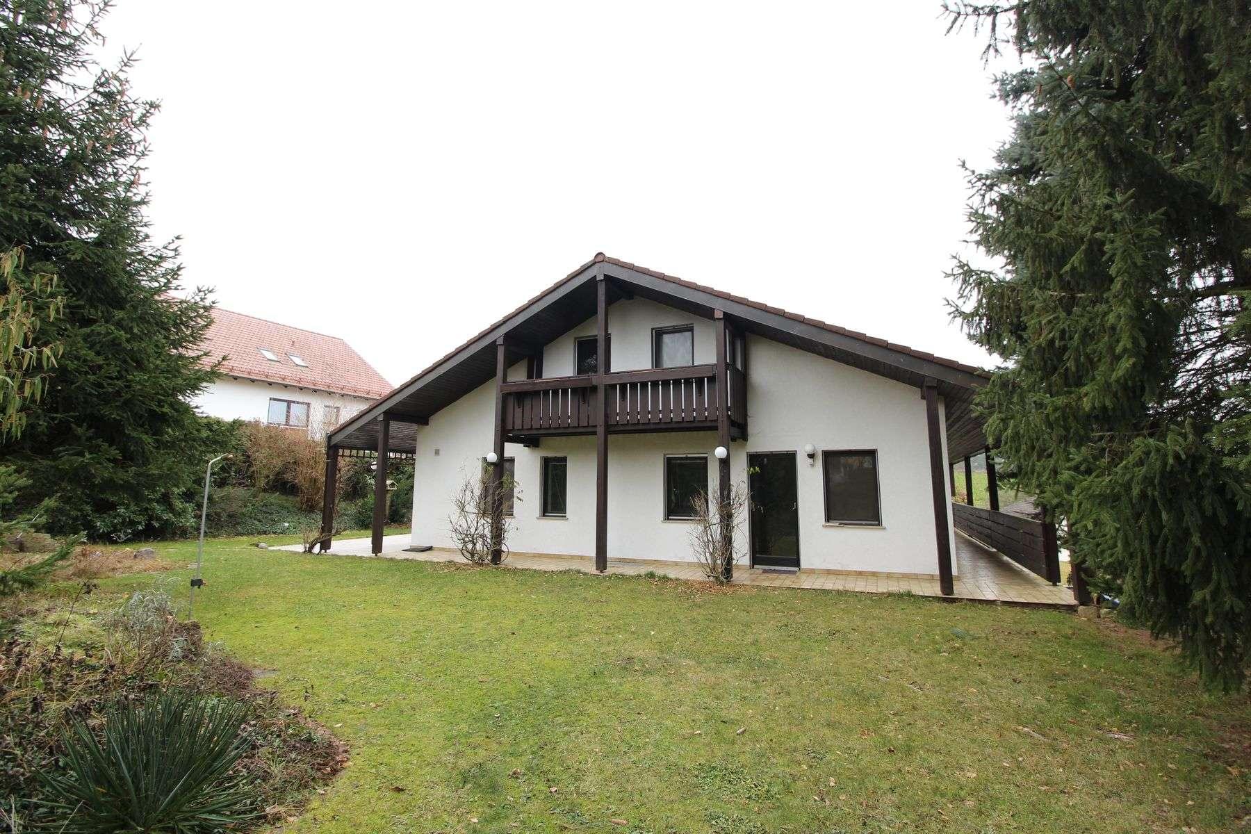 Erstbezug: Großzügige Villen-Etagenwohnung mit Garten in idyllischer Lage in Schweitenkirchen