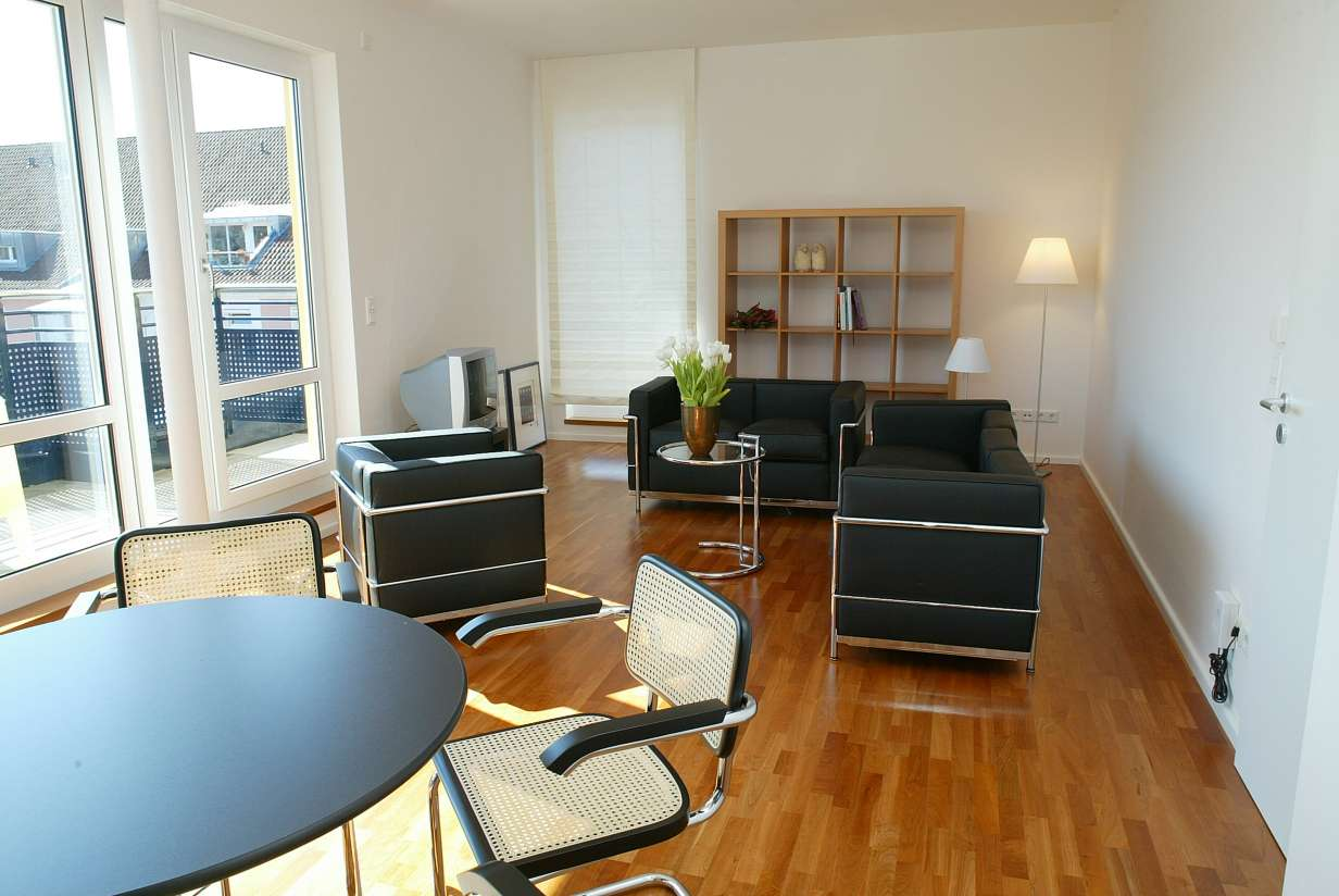 Penthousewohnung 90 m² mit hochwertiger Ausstattung, 2 Zimmer, 1.185 € in Stadtmitte (Aschaffenburg)