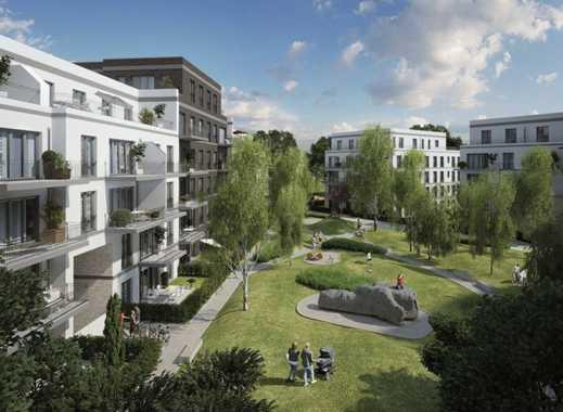 Erstbezug mit EBK,  TG und Balkon: exklusive  und sonnige 2 Zimmer-Wohnung in Berlin-Karlshorst