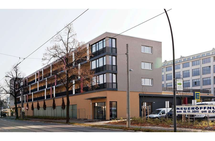 Gebäudeansicht (Straßenseite)
