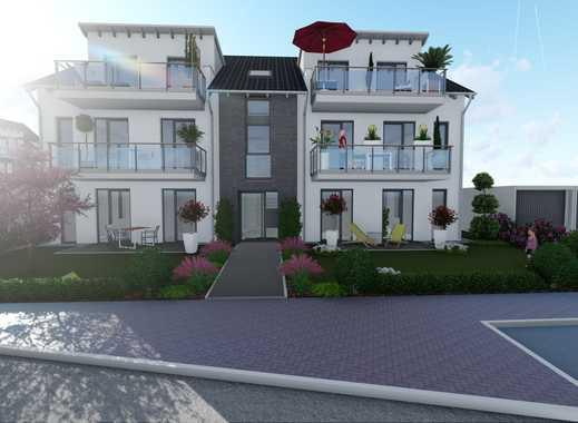 Ganz oben, ganz neu! - Exklusive Neubaudachgeschosswohnung in Dinslaken-Hiesfeld