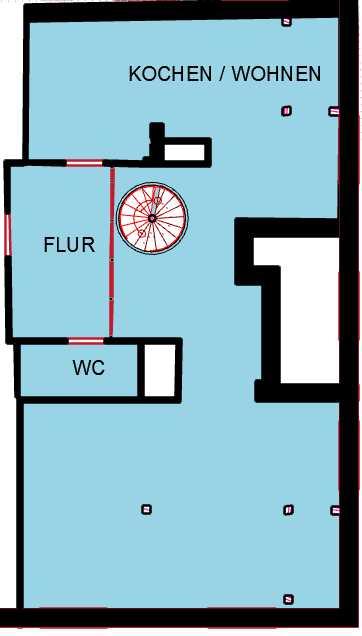 Schöne Helle, geräumige drei Zimmer Altbau Wohnung in Nymphenburg-Neuhausen in Neuhausen (München)