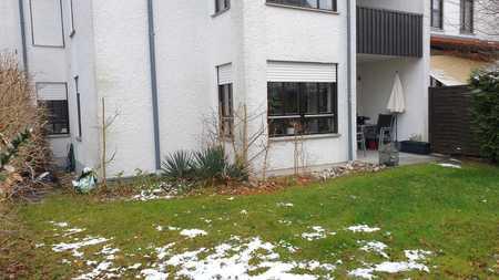 Gepflegte 2-Raum-EG-Wohnung mit Einbauküche, Garten in Stadtbergen zur Zwischenvermietung für 1 Jahr in Stadtbergen