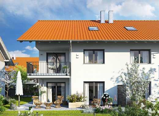 Vor den Toren Münchens! Sonnige Doppelhaushälfte mit Dachstudio, Hobbyraum und großem Garten