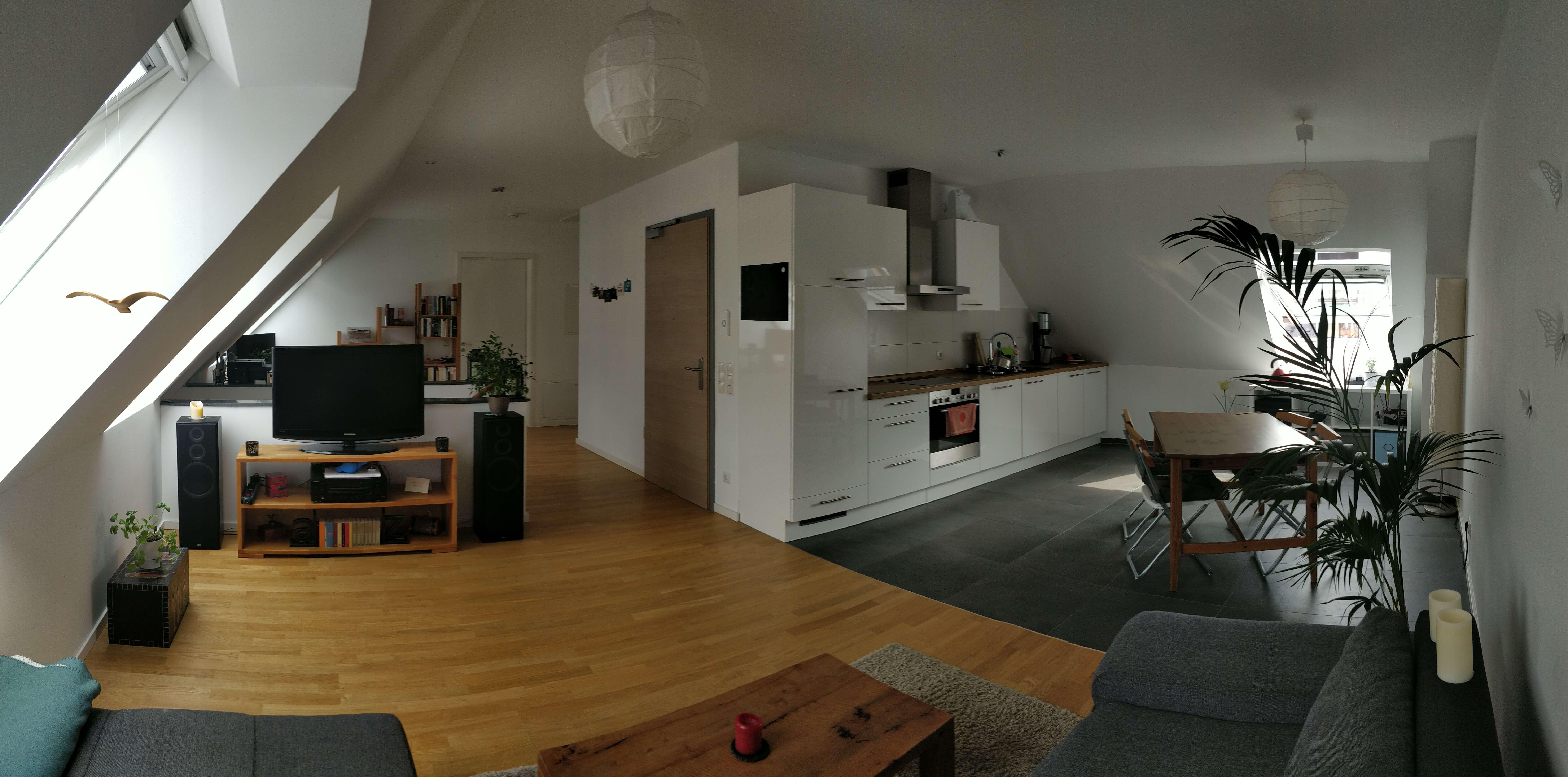 Exklusive 2,5-Zimmer-Maisonette-Wohnung mit Einbauküche & Tiefgaragenstellplatz im Zentrum in Erlangen - Zentrum (Erlangen)