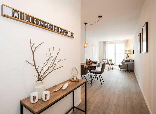Erstbezug! 2-Zimmer-Dachgeschosswohnung mit offenem Wohn-/Ess-/Kochbereich und Südterrasse