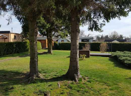 Verkaufe sonniges Gartengrundstück mit Bungalow in Dresden Weißig