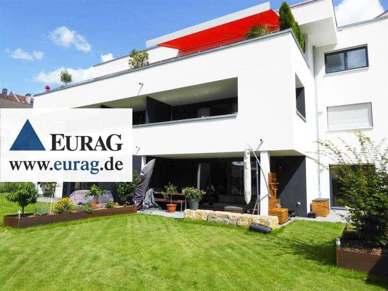 N-St.-Johannis: Traumhafte 3-Zi-Whg. mit großem Garten, EBK, 2 Terrassen, TG-SP in St. Johannis (Nürnberg)
