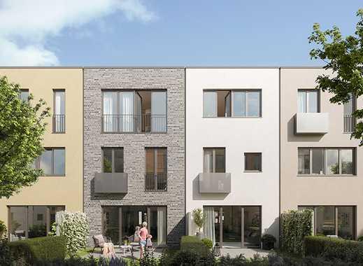 Reihenmittelhaus mit Klinkerfassade - Neubau in Bad Vilbel