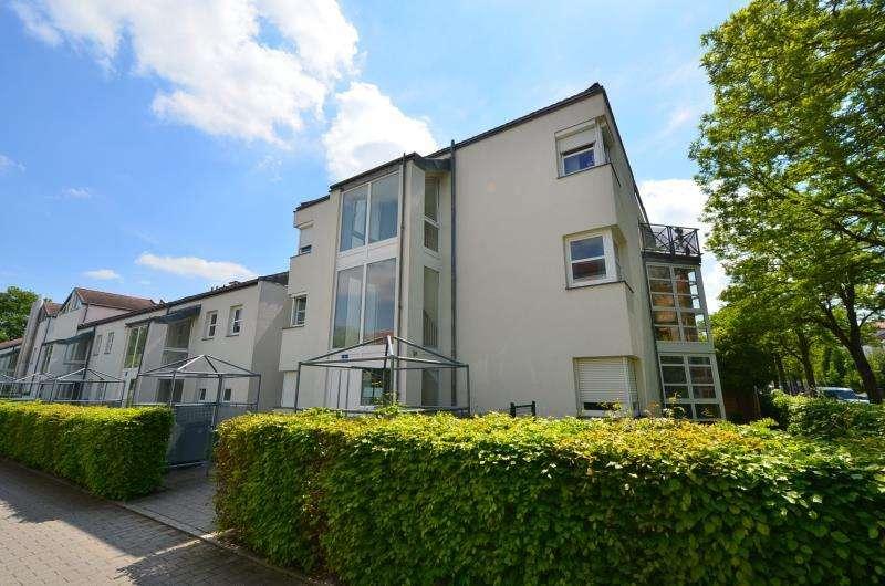 2-Zi.-Wohnung mit Einbauküche und Wintergarten in Regensburg West, Rennplatz in
