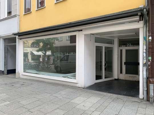 Wunderbar helles und schönes Ladengeschäft an der Theaterstraße