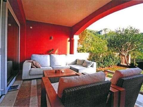 ein wunderschönes 2 schlafzimmer-apartment mit meerblick in andratx